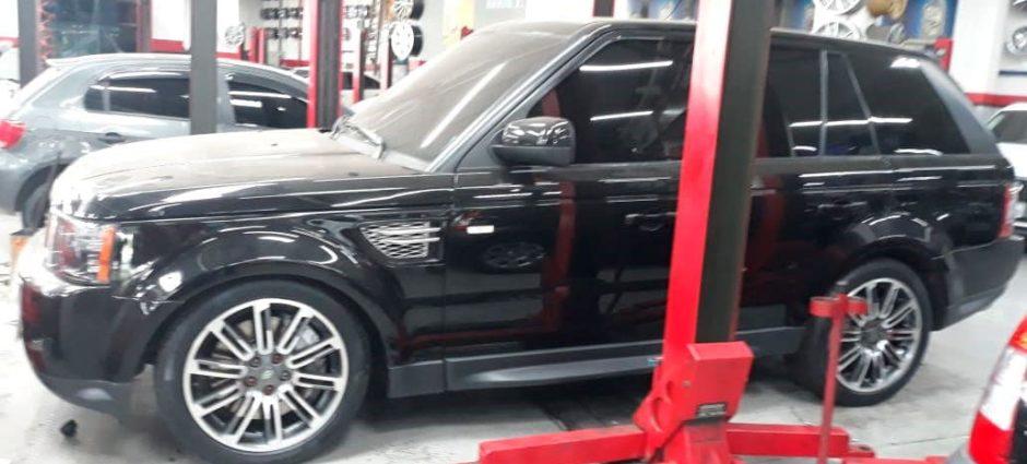 Range Rover Sport V8 – Conserto na Bolsa de Ar da Suspensão