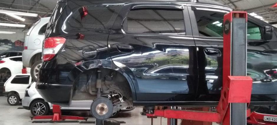 Troca de Embreagem – Chevrolet Spin