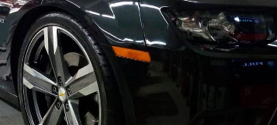 Restauração do Jogo de Rodas – Camaro Cinza