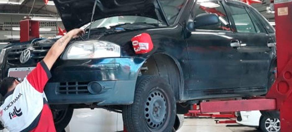 Manutenção de Ar Automotivo – Automóvel Gol