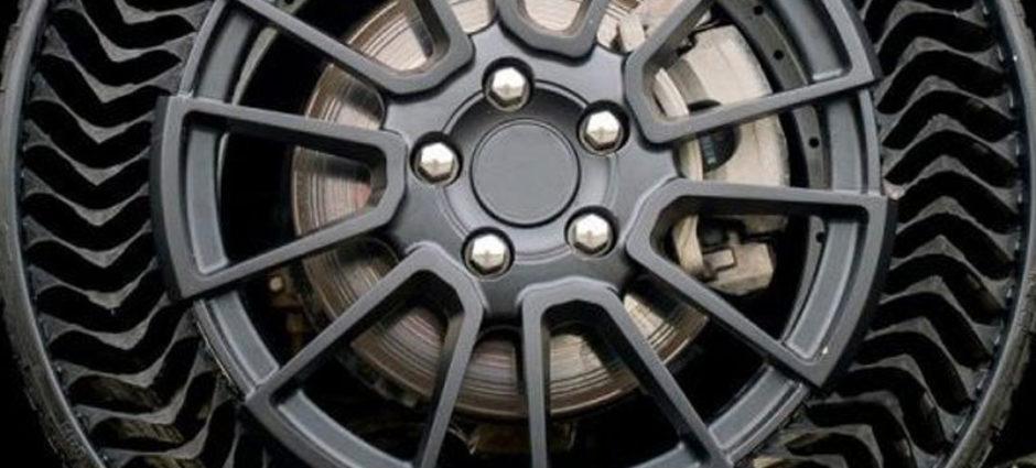 Michelin lançará Pneus Sem Ar e à prova de Furos em breve!