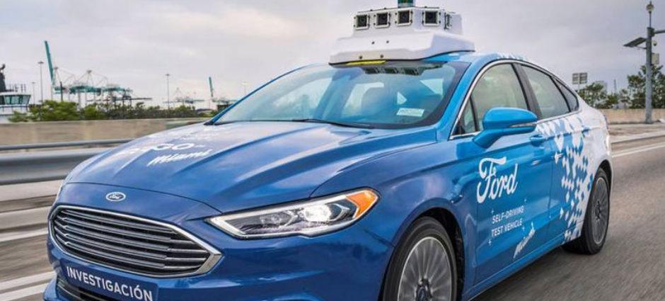 Ford projeta vida útil de carros autônomos de apenas quatro anos!