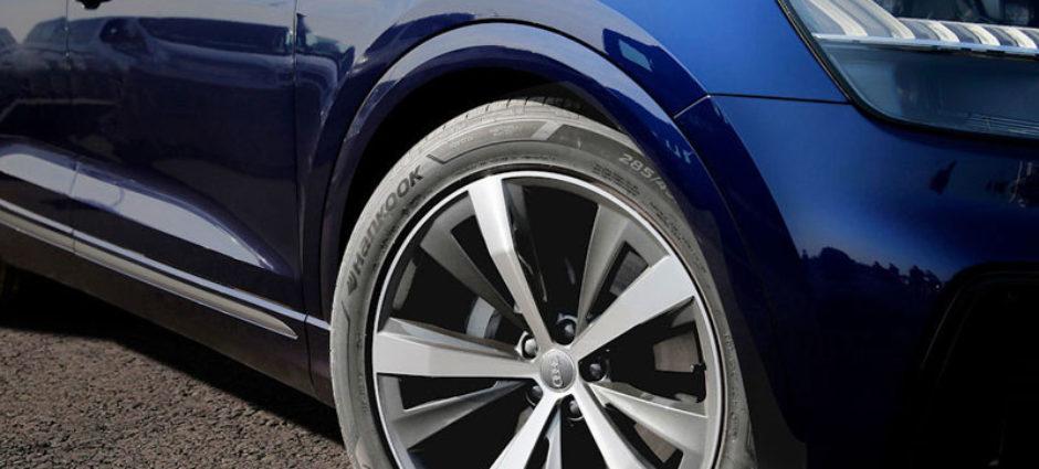 Hankook vai fornecer pneus para o novo Audi Q8!