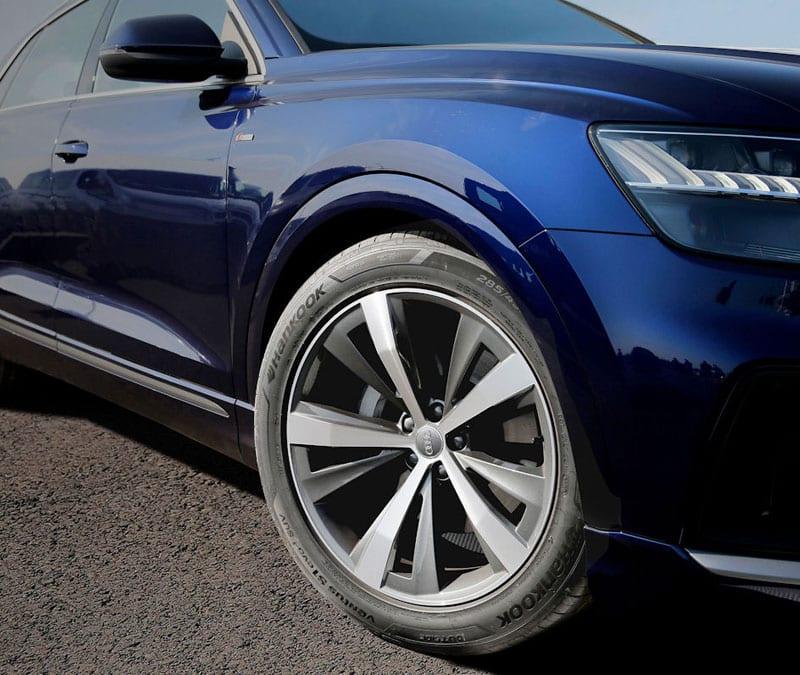 Hankook vai fornecer pneus para o novo Audi Q8