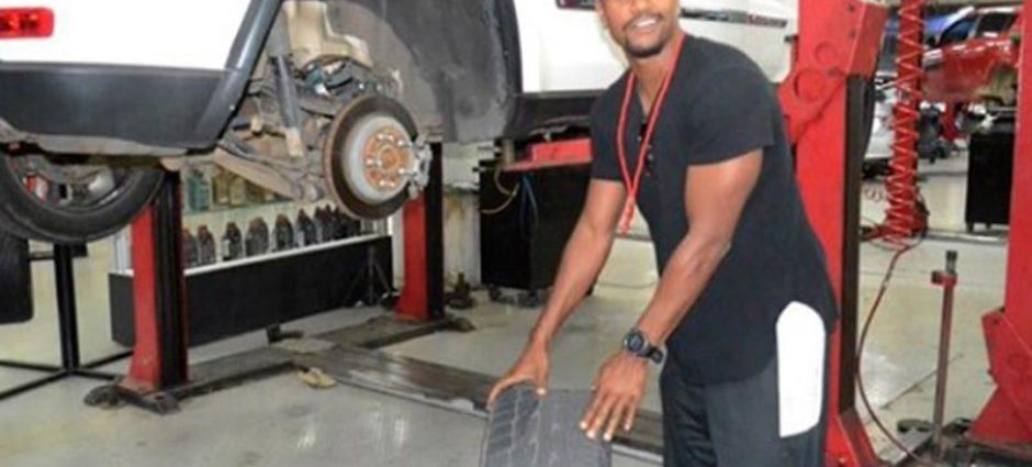 O ator David Junior trocou os Pneus do Seu Carro em Nossa Loja!