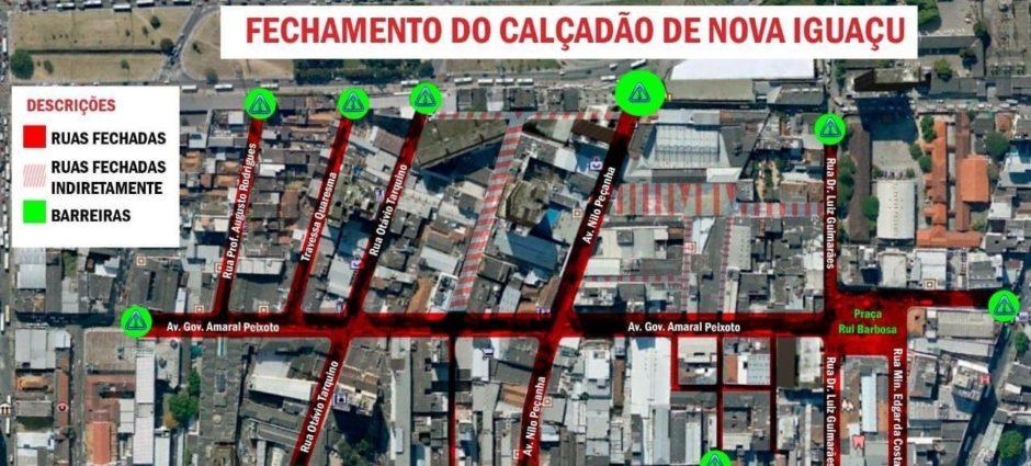 As ruas que dão acesso a Full Pneus estão liberadas