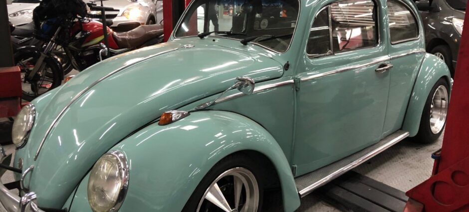 Fusca – Trocou o Motor 1200L por 1600