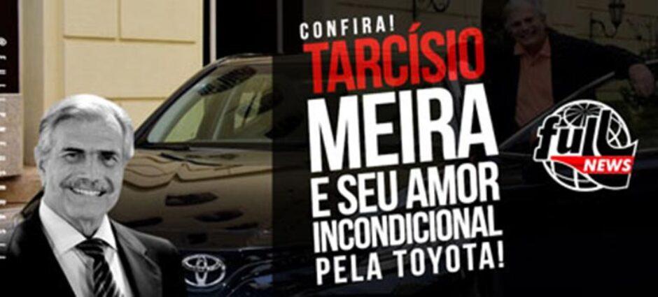 Tarcísio Meira e sua paixão pelos carros da Toyota