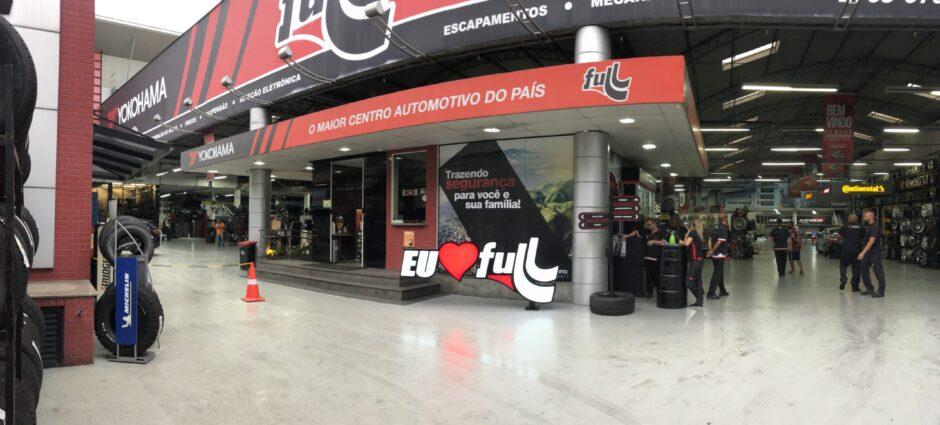 Full Pneus: Nossa loja em Nova Iguaçu é a maior da América Latina