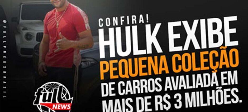 A Coleção de Carros do Hulk